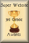 Super Website 3rd Grade Award 2003.06.14