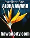 ALOHA AWARD - Click here to nominate a site!