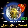 Antique Collect Best Site Award 29 May 2003