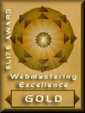 Gold Award For Webmastering Excellence 2003.06.07