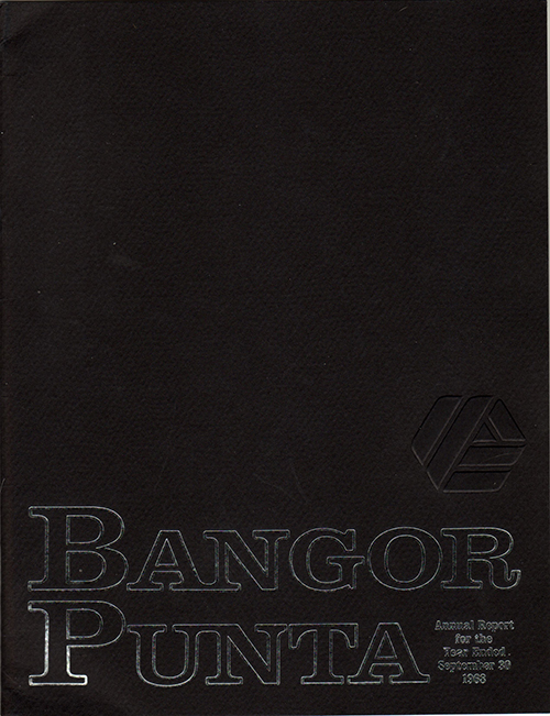 Bangor Punta Annual Report for the Year Ended September 30, 1968