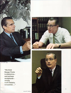 Nicolas M Salgo, W. Gordon Robertson and David W. Wallace - 1968 Photographs
