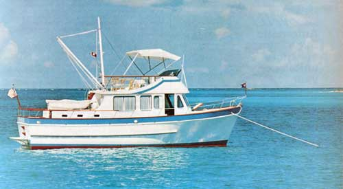 The De Fever Passagemaker 40 Trawler / Cruiser