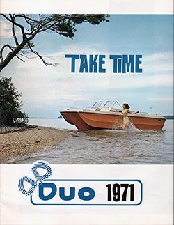 1971 Boat Catalog From DUO