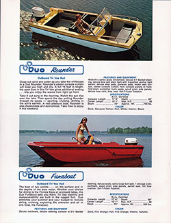 DUO Rounder - Outboard - Tri V Hull (Top of Page)