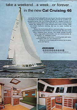 1967 The New Cal Cruising 46 Yacht - A Real Home Afloat