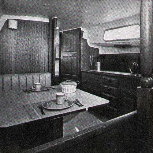 View of The Galley on the Cal 2-30