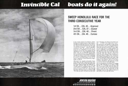 Invincible Cal Boats Do It Again (1969)
