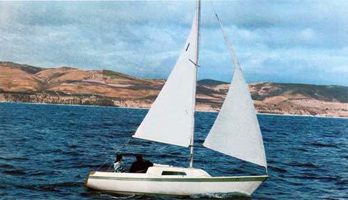 The CAL 21 Cruising Boat by Jensen Marine