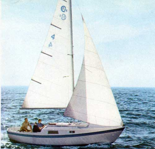The CAL 2-24 Sailboat  - A Top Racing Performer