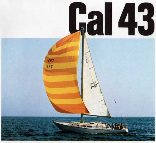 Cruising on the New Cal 43