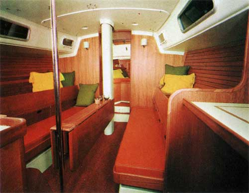 Interior View of the New Cal 43