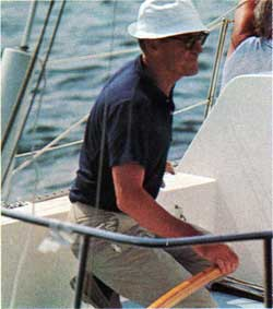 Bill Lapworth - Designer of the CAL 29 and other Yachts