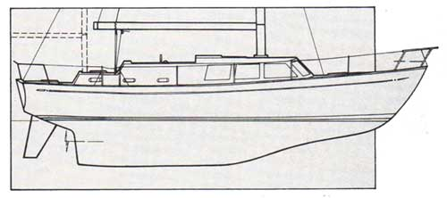 Profile of the Keel of the CAL 2-46 (1976)