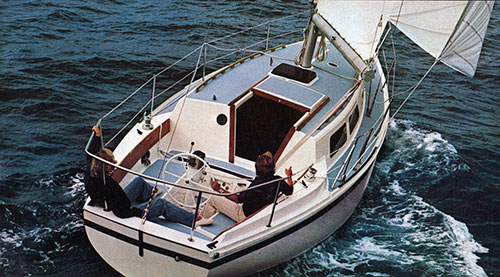 Cal 34-III Innovative New Cruiser