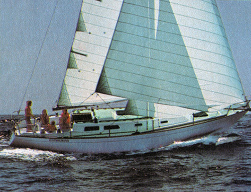 The CAL 39 makes cruising -- and competing -- more comfortable.