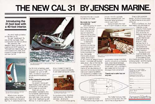 The New Cal 31 by Jensen Marine