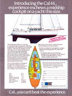 1983 Introducing the CAL 44 Yacht by Bangor Punta Marine