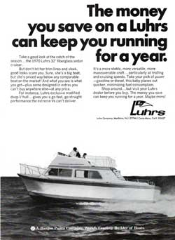 The Money You Save On A Luhrs...