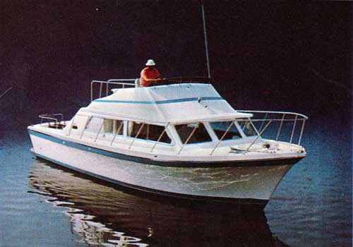 Crusing in Calm Waters in a Luhrs Boat