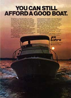 Luhrs - You Can Still Afford A Good Boat - 1975 Print Advertisement