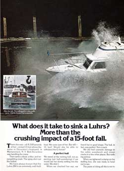 What Does It Take To Sink A Luhrs?