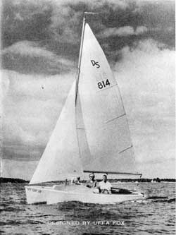 O'Day Day Sailer Sales Information and Specifications (1966)
