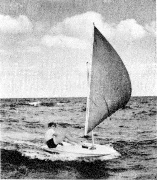 O'Day Kitten Personal Sailboat