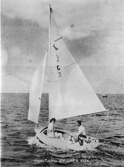 O'Day Javelin Sailboat Sales Information and Specifications (1966)