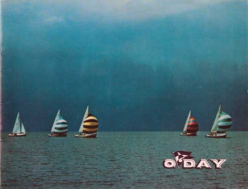 1967 O'Day Sailboat Brochure Cover
