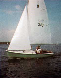 O'Day Ospray Sailboat