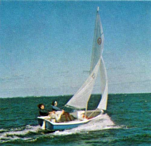 The O'Day Widgeon Sailboat in Action