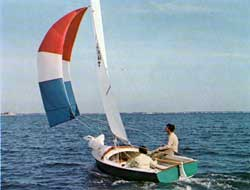 O'Day Javelin Sailboat