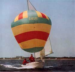 O'Day Rhodes 19 Sailboat