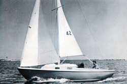 O'Day Tempest Sailboat