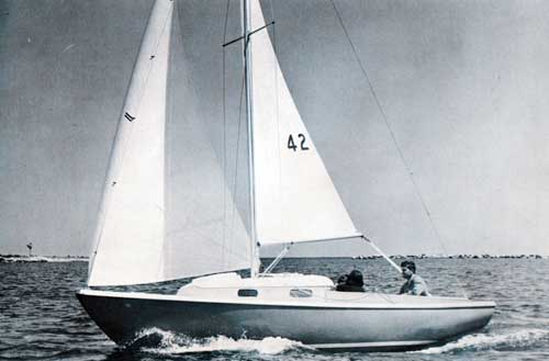 The O'Day Tempest Sailboat