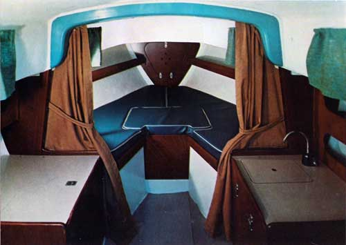Check out this Roomy Forward compartment on the O'Day Outlaw Sailboat