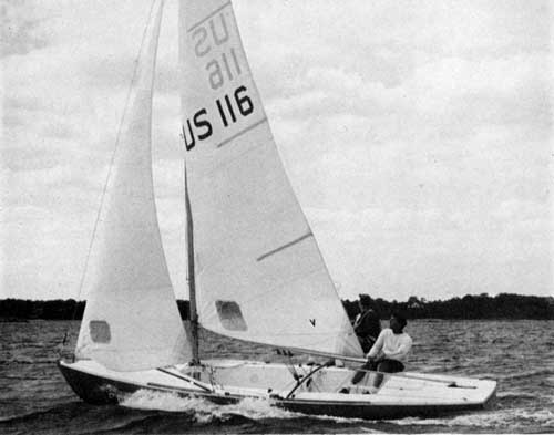 It's smooth sailing with an O'Day International Tempest Sailboat
