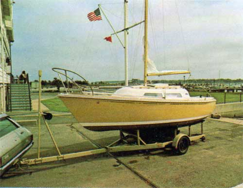 The Trailerable O'Day 22