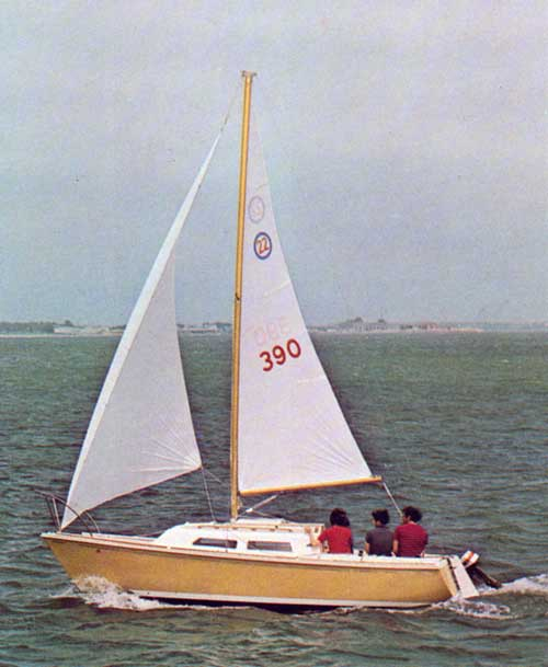Sailing on the O'Day 22