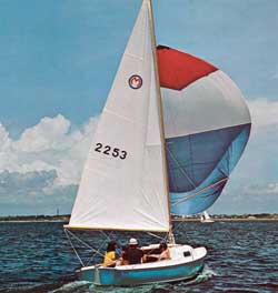 O'Day Mariner 2-2 Sailboat