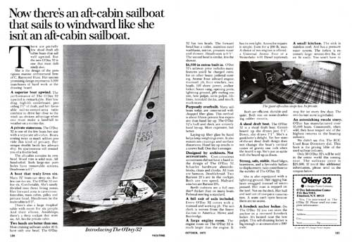 Introducing The O'Day 32 Aft-Cabin Sailboat (1975)