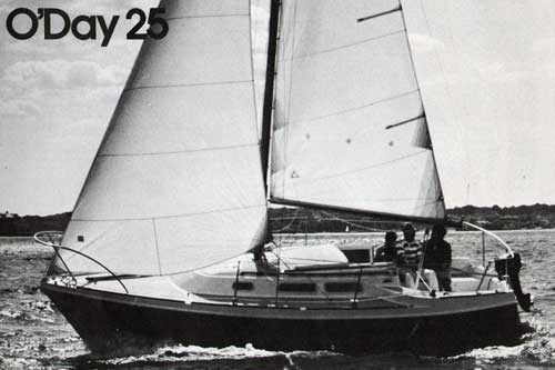 The O'Day 25 - Sailing in the Open Waters