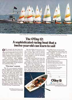 The O'Day 12 Sailboat: A Sophisticated Racing Boat (1977)