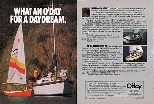 The O'Day Tri-Cabin 32 and All Around O'Day 27 - Daydream