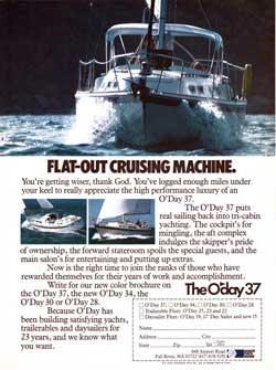 The O'Day 37 Yacht: Flat-Out Cruising Machine (1980)