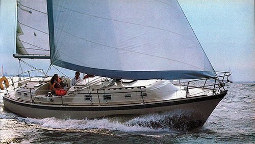 The Tri-Cabin O'Day 37 Yacht