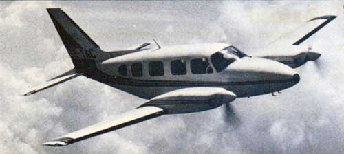 1979 Piper Navajo - Step up to cabin class