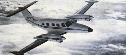 1979 Piper Cheyenne III - Piper's top of the line turbo prop.