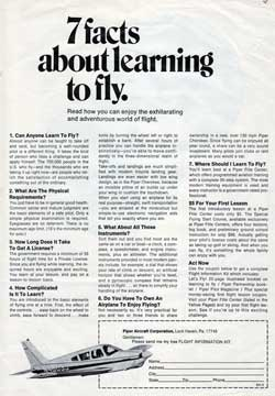 7 Facts About Learning To Fly